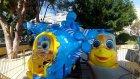 Antalyada deniz manzaralı elife özel lunapark, Eğlenceli çocuk videosu