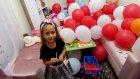 Balonları Patlat Sürprizleri Kap, Eğlenceli Çocuk Videosu