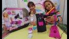 Barbie elbise tasarım stüdyosu kutusu açtık, eğlenceli çocuk videosu, toys unboxing