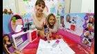 Barbie kuaför ve güzellik salonu oyuncak kutusu açtık, eğlenceli çocuk videosu, Toys unboxing