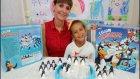 Çılgın Penguenler Oyuncak Kutusu Açtık , Eğlenceli Çocuk Videosu, New Toys Unboxing