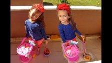 Elif Barbie Temizlik Seti İle Balkonu Temizliyor, Eğlenceli Çocuk Videosu