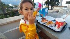 Elif İle Mc Donalds Keyfimiz, Eğlenceli Çocuk Videosu
