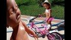 Elif moped ve bisikleti ile gezmede , Polis ve trafik oyunu oynadık, Eğlenceli çocuk videosu