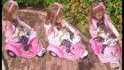 Elif ve paticik parkta motor ile geziyorlar , eğlenceli çocuk videosu