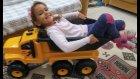 Elife dev kamyon , eğlenceli çocuk videosu