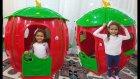 elife Tombiş çilek ev, eğlenceli çocuk videosu