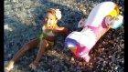 Elife yeni hacıyatmaz denizde açtık oynadık ,  Eğlenceli çocuk videosu