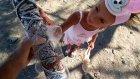 Elifin  hamak keyfi , Plaja hamak kurmak istedik ama olmadı , Eğlenceli çocuk videosu