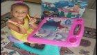 Elifin Masasına El Koydum Ona Yeni Çalışma Masası Aldık Tabi Elsa ::)) Eğlenceli Çocuk Videosu