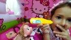 Hello kitty evinde  doktor oyunu oynadık ,eğlenceli çocuk videosu