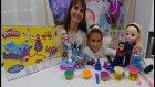 Karlar Ülkesi Frozen Elsa ve Anna Playdoh, Eğlenceli Çocuk Videosu