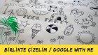 """Nasıl """"Doodle"""" Çiziyorum? / Summer Doodles"""