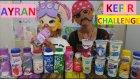 Olur Mu Demeyin ::)) Ayran Kefir Challenge Yaptık , Eğlenceli Çocuk Videosu