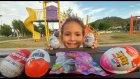 Pembiş motorla parkta sürprizler bulma yarışması, eğlenceli çocuk videosu