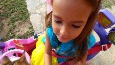 Prenses Jeep İle Bahçe Gezintisi , Elif Lera Ve Paticik Geziyorlar, Eğlenceli Çocuk Videosu