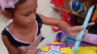 Toyz shop gezintimiz ve küçük bir alışveriş , Eğlenceli çocuk videosu