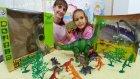 Dev dinozor oyuncak kutusu açtık, eğlenceli çocuk videosu, toys unboxing