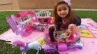 Elif Barbie ev ile 3 barbie piknik yapıyor, eğlenceli çocuk videosu, evcilik oyunları
