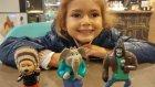Elif ile MC Donald's keyfi oyuncaklar değişmiş seriden 3 oyuncak aldık, eğlenceli çocuk videosu