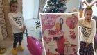 Elife yeni oyuncak valiz, yatak ve yemek oturağı oluyor , eğlenceli çocuk videosu, toys unboxing