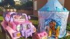 Elsa Çadır Bahçede , Elif Elsa Anna Olaf Piknik Yapıyorlar, Eğlenceli Çocuk Videosu