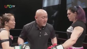 MMA Kadın Dövüşçüsünden İnsanlık Dışı Nakavt