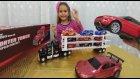 Otomobiller taşıyan tır oyuncak kutusu açtık , eğlenceli çocuk videosu toys unboxing