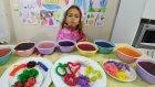 Rengarenk kristaller çok güzel oldu, Leraya ŞAKA yaptık, eğlenceli çocuk videosu