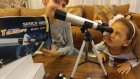 Teleskop Kutu Açılımı Ay Ve Yıldızları Görmek Mümkünmü ? Eğlenceli Çocuk Videosu Toys Unboxing