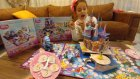 3D oyun Prenses şatosu açtık oynadık, eğlenceli çocuk videosu, Ariel bella sindirella