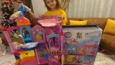 Barbie Gökkuşağı Krallığı Şatosu Oyun Seti Açtık , Eğlenceli Çocuk Videosu