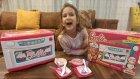 Barbie mikro dalga fırın seri tamamlandı. Ürünlerin sadece renkleri ve boyutları güzel