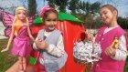 Elif bahçede sürpriz arıyor, eğlenceli çocuk videosu