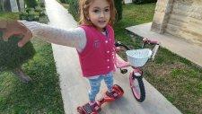 Elif İle Yarışlar Elektrikli Kaykay Hoverboard Tan Düştüm.eğlenceli Çocuk Videosu