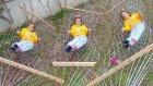 Elifin düşme günü, bahçeye hamak kurduk, eğlenceli çocuk videosu