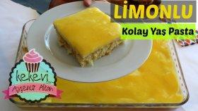 Limonlu Tepside Pratik Yaş Pasta Tarifi / Ayşenur Altan Yemek Tarifleri