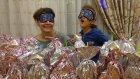 meyve suyu challenge klasik tarzda elif ile lera kapışıyor, eğlenceli çocuk videosu
