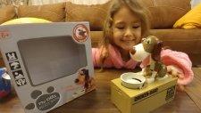 Para Yiyen Köpek Kumbara , Eğlenceli Çocuk Videosu , Toys Unboxing