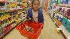 Salam challange için alışveriş yaptık , eğlenceli çocuk videosu