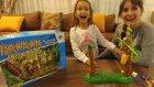 Banana Drama cambaz maymunlar oyunu , eğlenceli çocuk videosu , toys unboxing