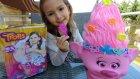 Büyük Poppy Trol açtık saçları ve aksesuarları , eğlenceli çocuk videosu, toys unboxing