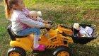 Elife yeni iş makinası traktör inşaat makinası, eğlenceli çocuk videosu , toys unboxing
