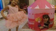 Elife Yeni Prenses Şatosu Pembe Çadır , Eğlenceli Çocuk Videosu