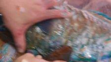 Gök Kuşağı Balığı Temizlenmesi