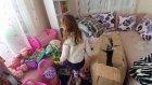Lera ve Elif Eski evden oyuncaklar getiriyor, eğlenceli çocuk videosu