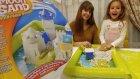 Moon sand kinetik kum, eğlenceli çocuk videosu, toys unboxing
