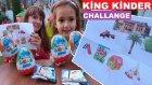 BAHÇE KİNG KİNDER SÜRPRİZ CHALLANGE,  eğlenceli çocuk videosu