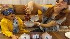 DOKUNDUĞUNU  BİL CHALLANGE , Elif ve Lera sürprizine yarışıyorlar , eğlenceli çocuk videosu