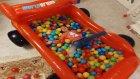Elife yeni İntex car top havuzu, eğlenceli çocuk videosu